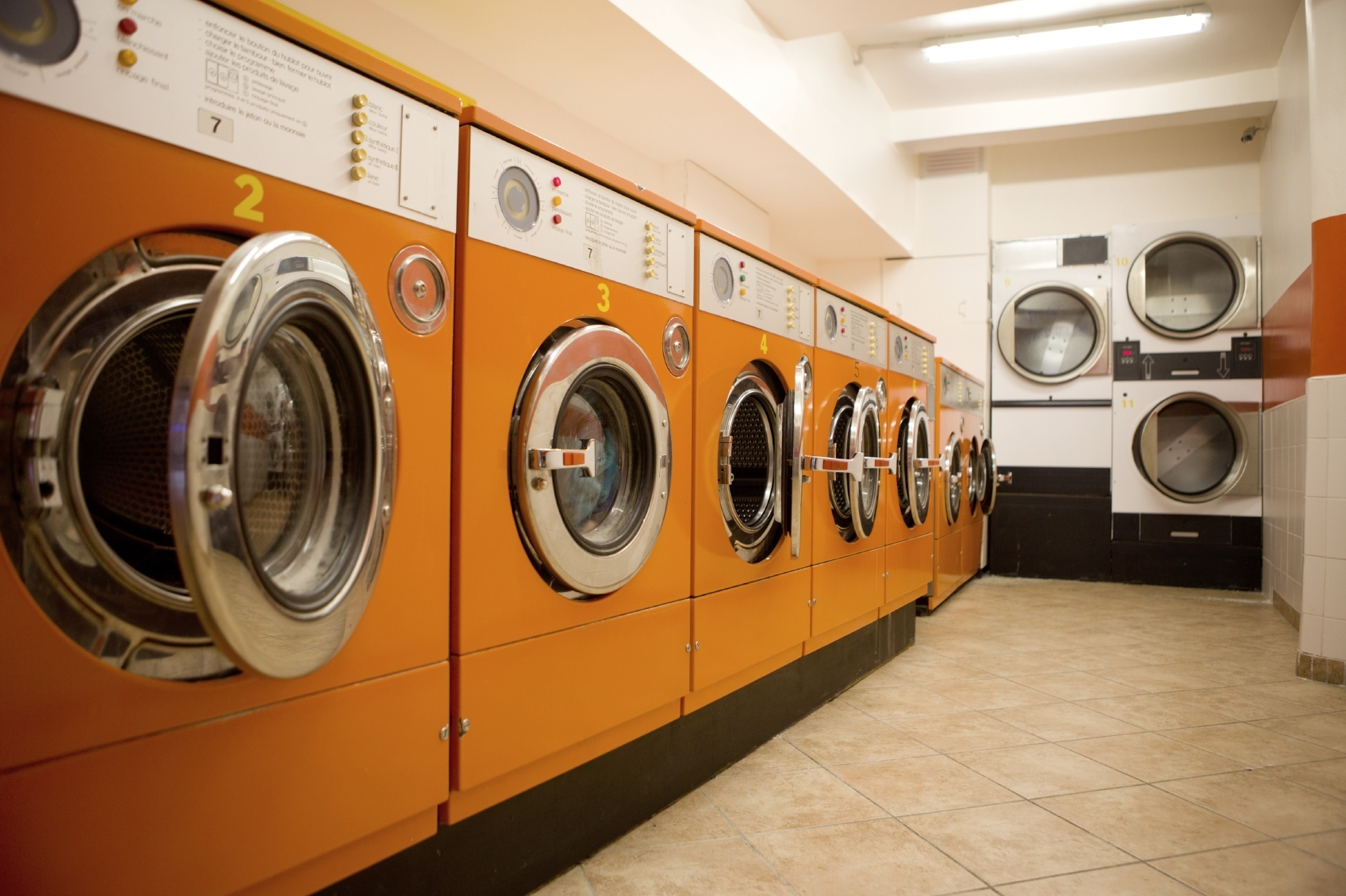 industri vaskemaskiner